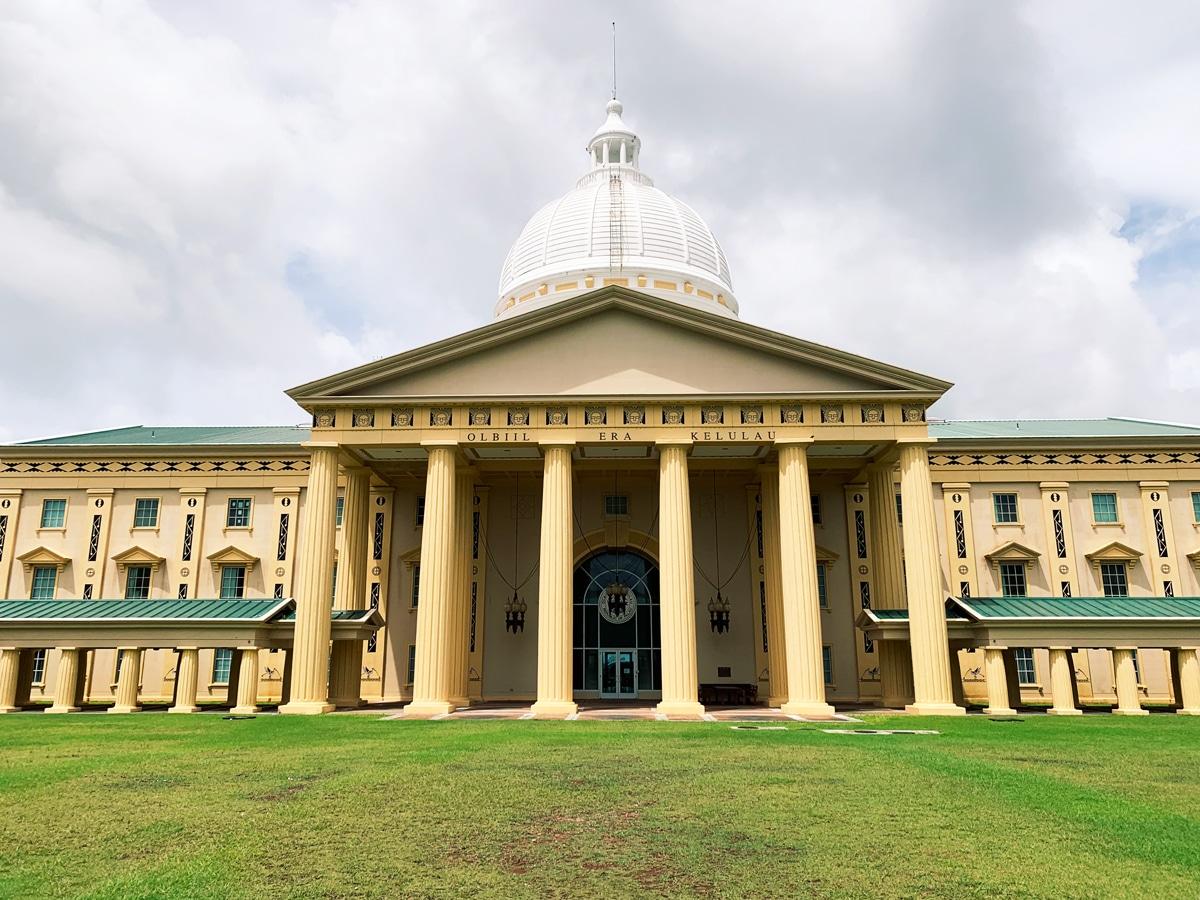 首都マルキョクの国会議事堂