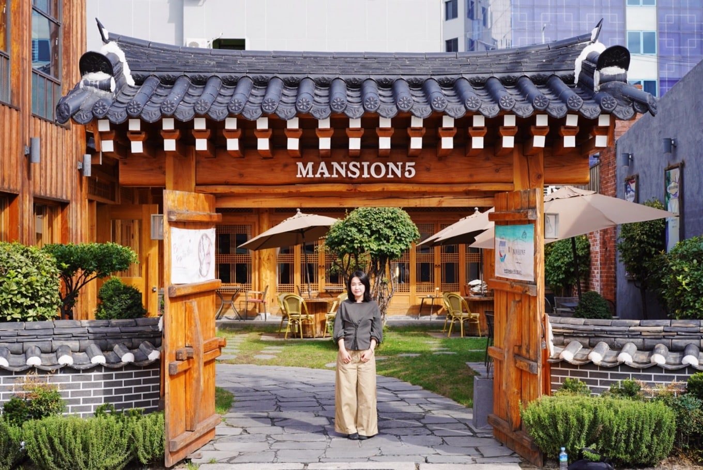大邱の古民家カフェ「MANSION5」
