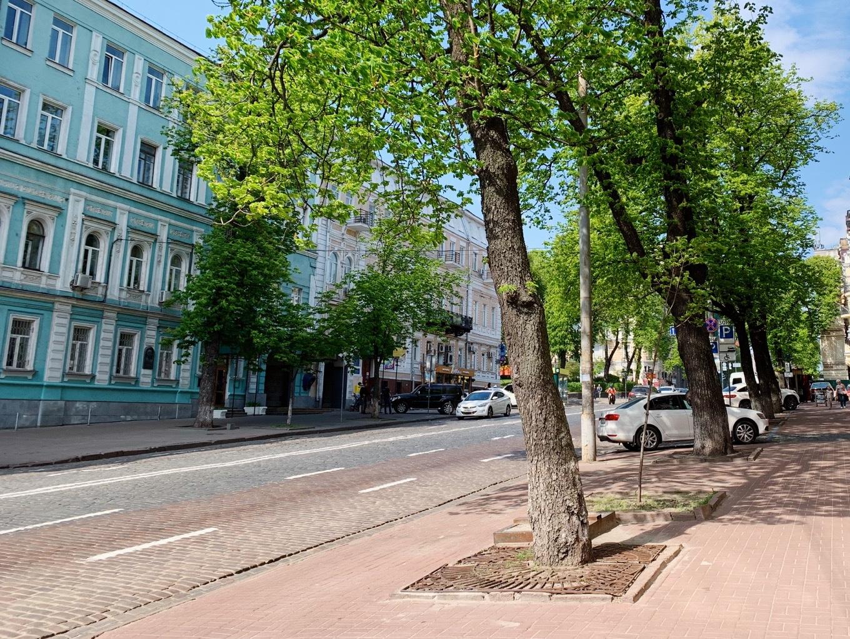 キエフの街中