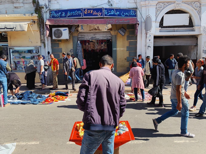 チュニジアのラマダンのマーケット