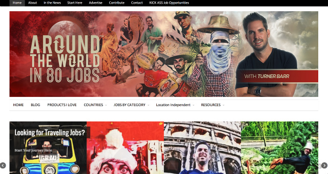 Around the World in 80 Jobs