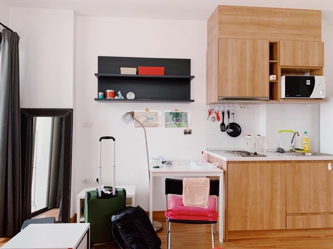 バンコクプチ移住のマンション