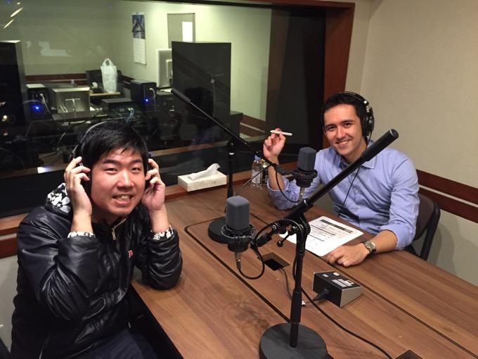 2回目のラジオ出演(2016年2月29日)