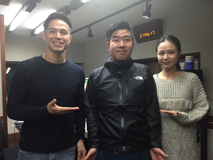 ケリーさん・アンジーさんの「TOKYO FM WORLD」出演(2016年11月11日)