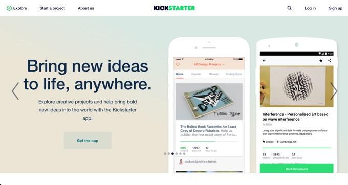 Kickstarter(キックスターター)
