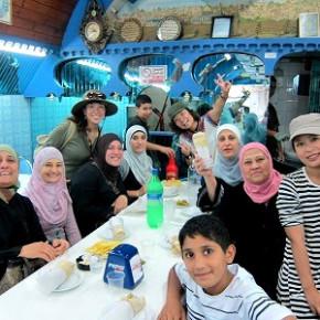 イスラエルの食堂