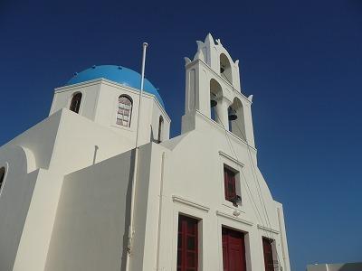サントリーニ「イア」の街