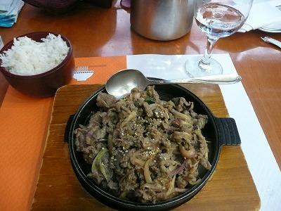 アテネの韓国料理