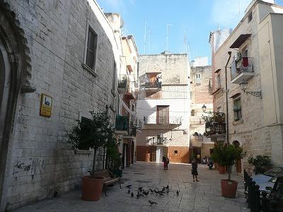 バーリの旧市街