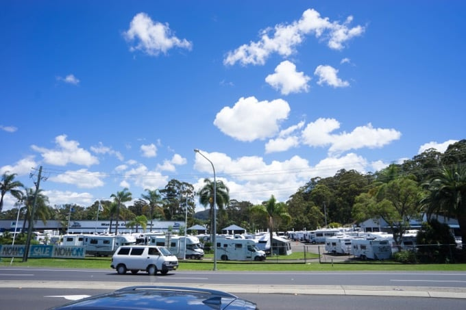 駐車場を探すアプリは「WikiCamps」