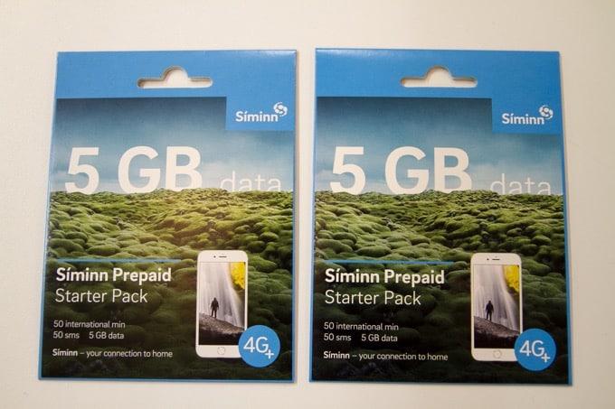 アイスランドのSimカードは空港で買えなければショッピングセンターで