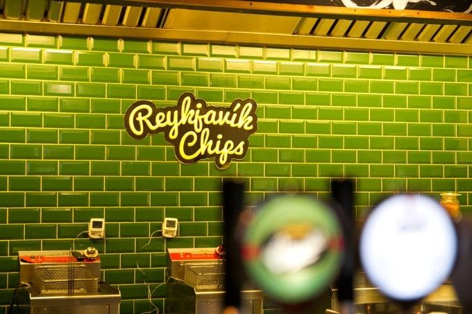 フライドポテト専門店「Reykjavik Chips」