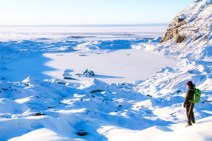 アイスランドの氷河トレッキングとは