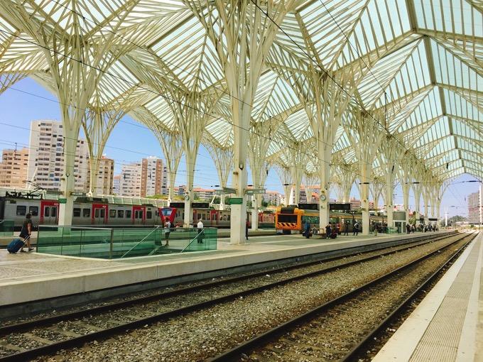 リスボンの駅
