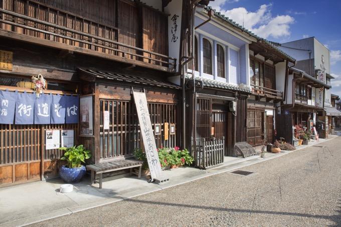 東海道五十三次の47番目の宿場町「関宿(せきじゅく)」の街並みを歩く