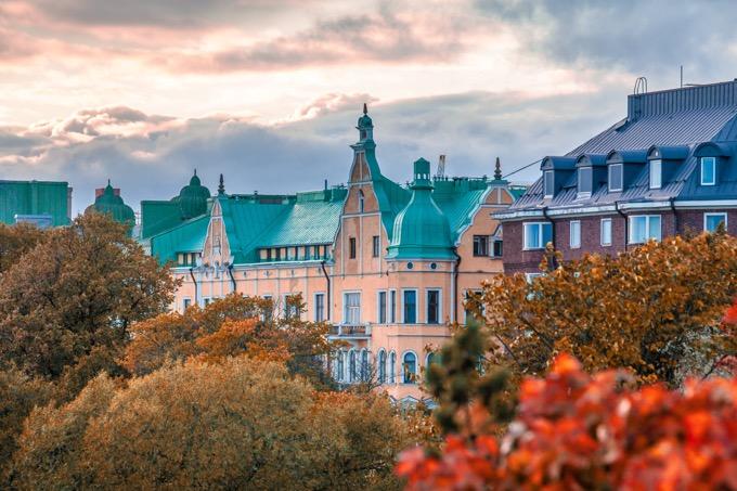 物価の高い国3位:ヘルシンキ(フィンランド)
