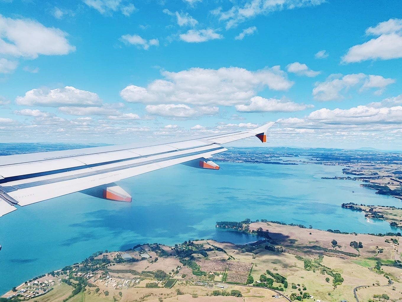空から見るニュージーランド