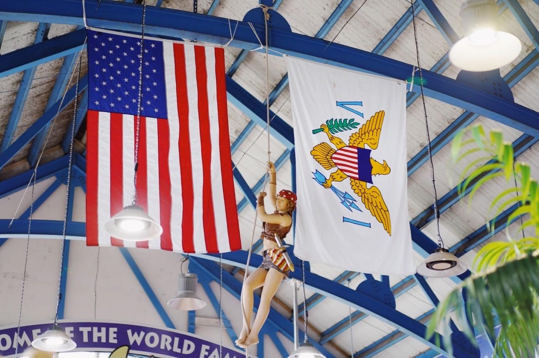 バージン諸島の国旗