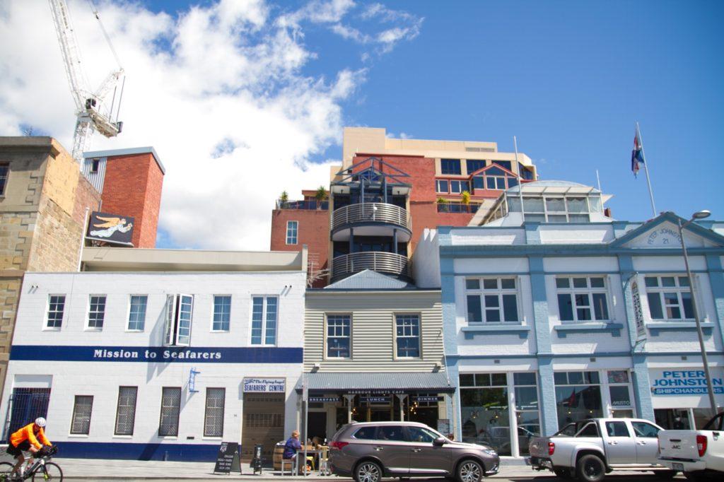 タスマニアの首都ホバート