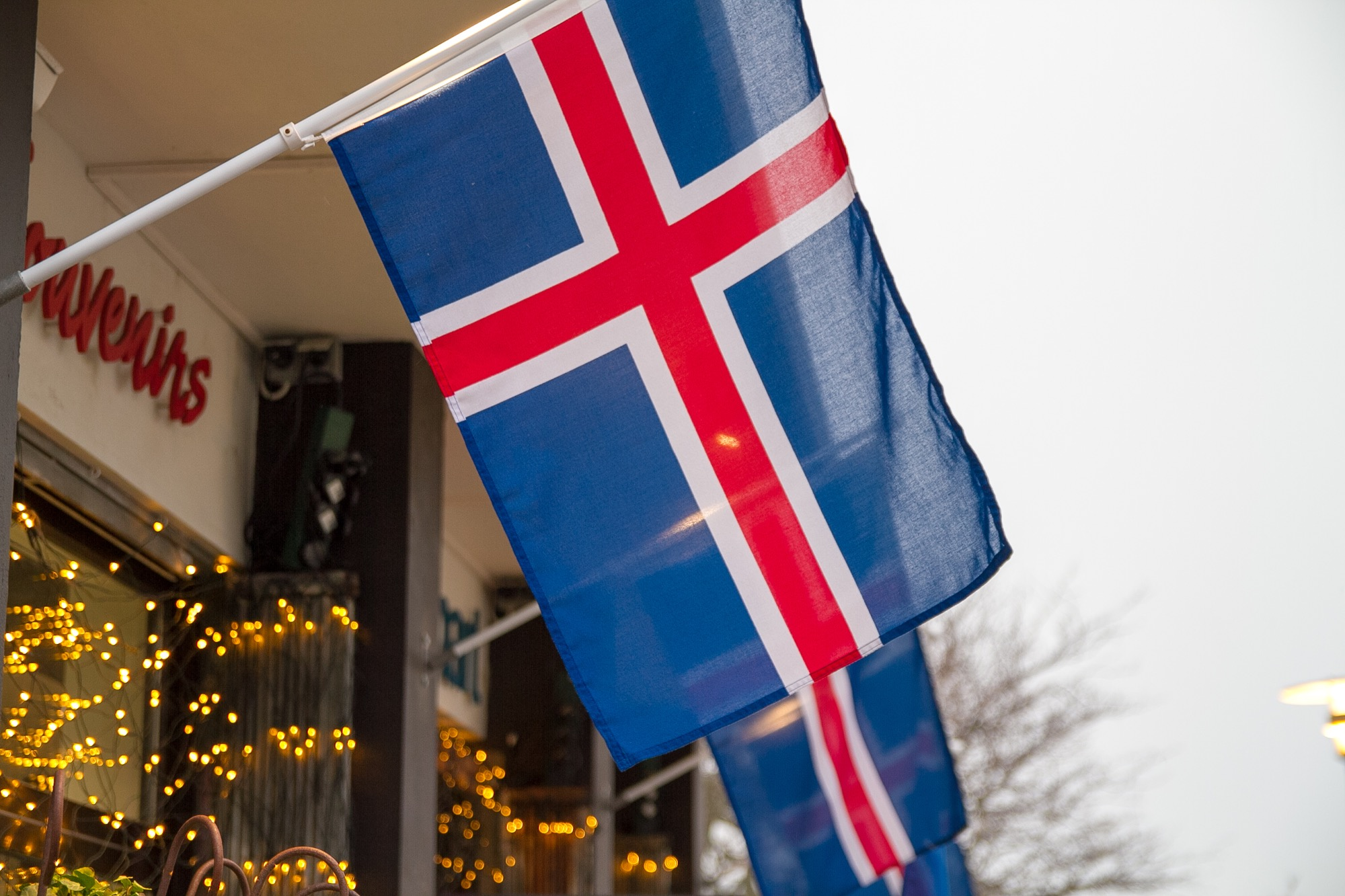 アイスランド国旗