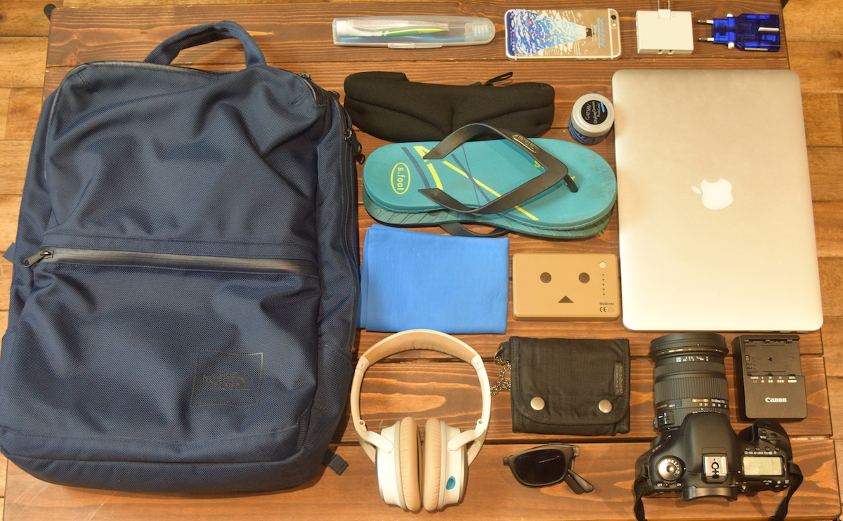 ひとり旅を楽しく便利にする7つの持ち物【53ヶ国訪問】