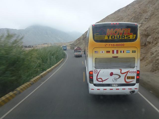 南米でバスに乗る際に、絶対気をつける3つのこと
