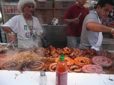 ニューヨークのリトルイタリーで開催される「San Gennaro Festival」