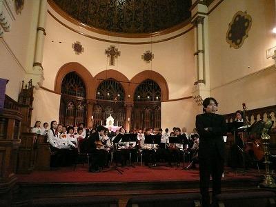 2/19 ニューヨークでチャペルコンサートに参加