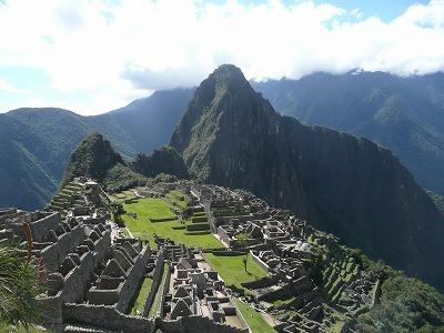 5/22-23 ペルーの世界遺産「マチュピチュ」の温泉はぬるい
