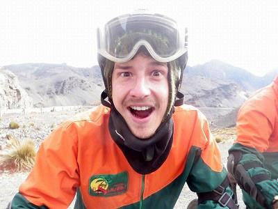 5/31 世界最悪の道「デスロード」をマウンテンバイクで駆け下りる