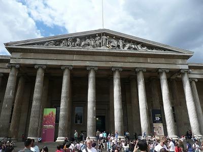 8/1 大英博物館で見る世界の捉え方。日本の扱いは…