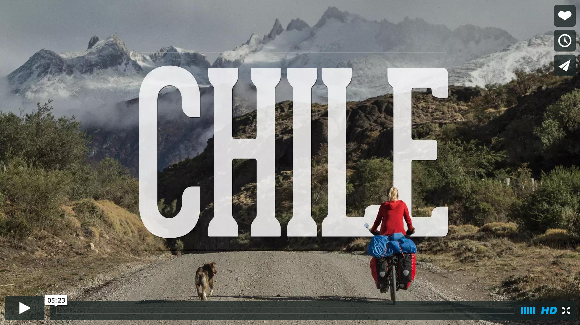 合計7ヶ月間ペルーとチリを自転車で旅した映像が禍々しく素敵